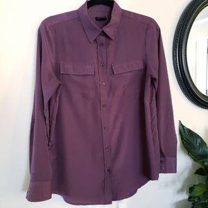 Ann Taylor button up blouse